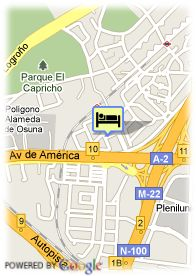 map-Hotel Maydrit