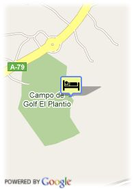 map-Apartamentos Be Live Plantio Golf Resort