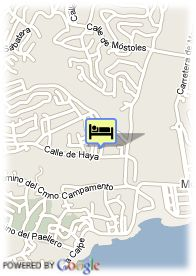 map-Hotel Swiss Moraira