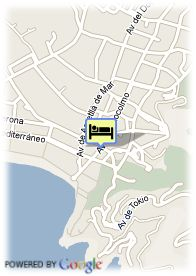 map-Hotel Complejo Levante Club