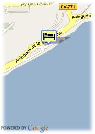 map-Hotel Albahia Tennis and Business