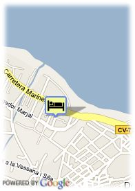 map-Hotel Daniya Spa Denia And Business