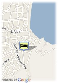map-Hotel Sun Palace Albir And Spa