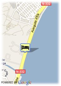 map-Hotel Holiday Inn Express Alicante