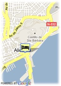 map-Hotel Suites Del Mar