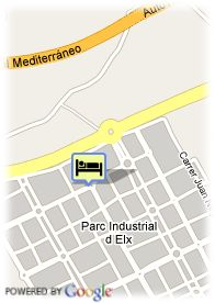 map-Hotel Holiday Inn Elche
