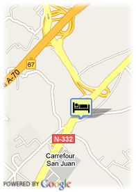 map-Hotel Residencia Abril
