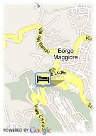 map-Hotel Titano