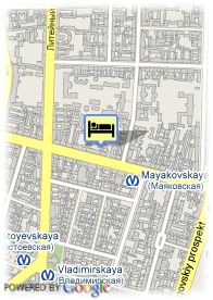 map-Nevsky Grand Hotel