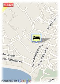 map-Apartamentos Playamar