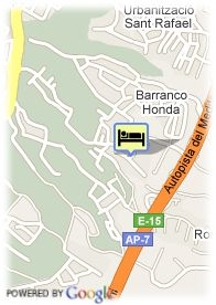 map-Sandos Monaco Hotel And Spa