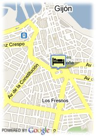 map-Hotel Robledo