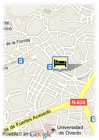 map-Hotel Silken Monument Naranco