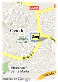 map-Hotel Husa Santo Domingo Plaza
