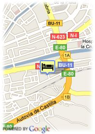map-Hotel Cardeña