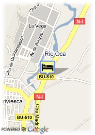 map-Hotel El Valles