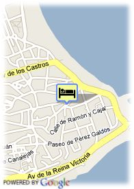 map-Hotel Santemar