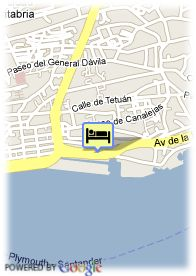 map-Hotel Vincci Puerto Chico