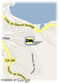 map-Hotel Mar Rovacias
