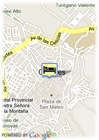map-Hotel Casa Don Fernando