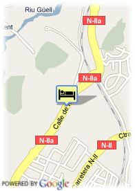 map-Hotel Husa Fornells Park