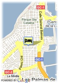 map-Hotel Fataga