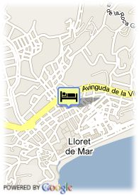 map-Hotel Bertran