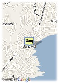 map-Hotel Barcarola