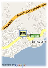 map-Hotel IFA Beach