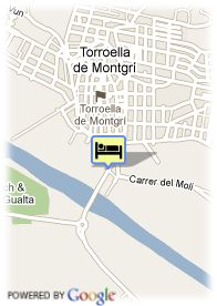 map-Hotel Restaurant Emporda