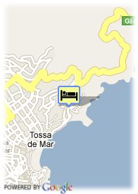 map-Hotel B.W. Mar Menuda