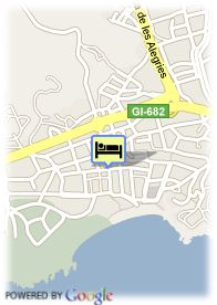 map-Hotel Top Royal Beach