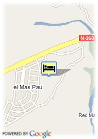 map-Hotel Mas Pau