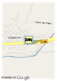 map-Hotel Sidorme Figueras