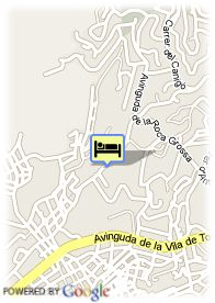map-Hotel Guitart Monterrey