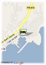 map-Hotel Tres Torres