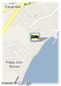 map-Hotel Club Mare Nostrum