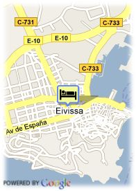 map-Hotel Playa Sol II