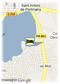 map-Hotel S'Estanyol
