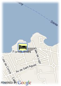 map-Hotel Club Maritim