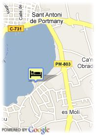 map-Hotel Hawaii Ibiza
