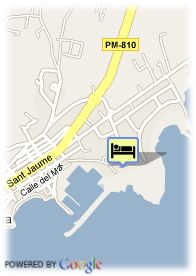map-Hotel Aguas de Ibiza
