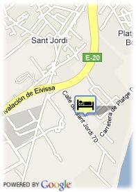 map-Hotel Fiesta Club Palm Beach