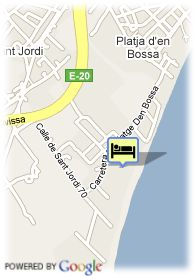 map-Hotel Fiesta Hotel Don Toni