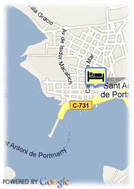 map-Hotel Hostal Don Juan