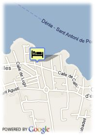 map-Apartamentos Blue Star