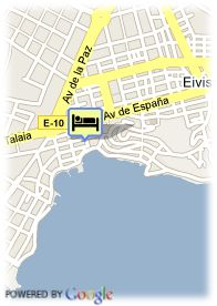 map-Hotel Don Quijote