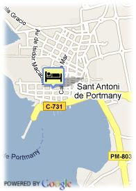 map-Apartamentos Confort Plaza