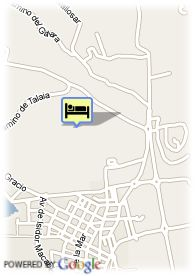 map-Hotel Azuline S´Anfora and Fleming