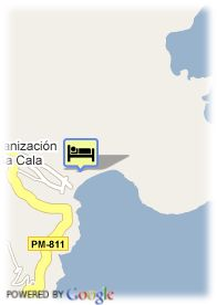 map-Grupotel Cala San Vicente